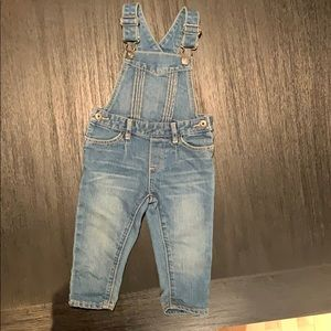 Baby Gap denim overalls size 12-18m